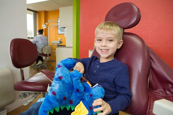 pediatric dentist happy patient